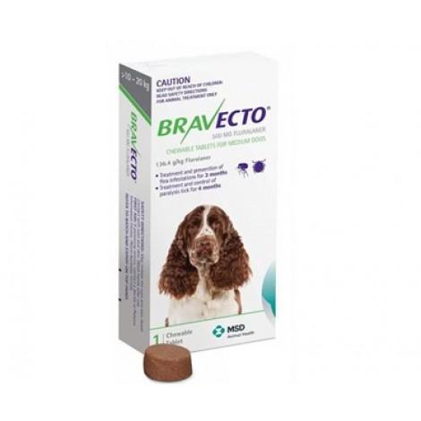 Bravecto Green Medium Dogs Amp Puppies