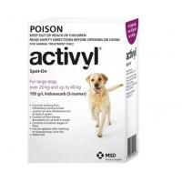 Activyl for Dogs 44-88lb (20-40kg) 6 Pack