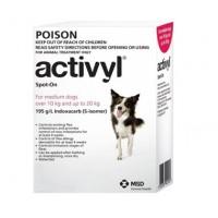 Activyl for Dog 22-44lb (10-20kg) 6 Pack