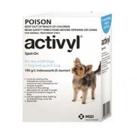 Activyl for Dogs 3.3-14lb (1.5-6.5kg) 6 Pack