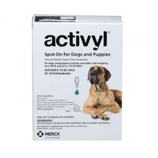 Activyl for Dogs 89-132lb (40-60kg) 6 Pack