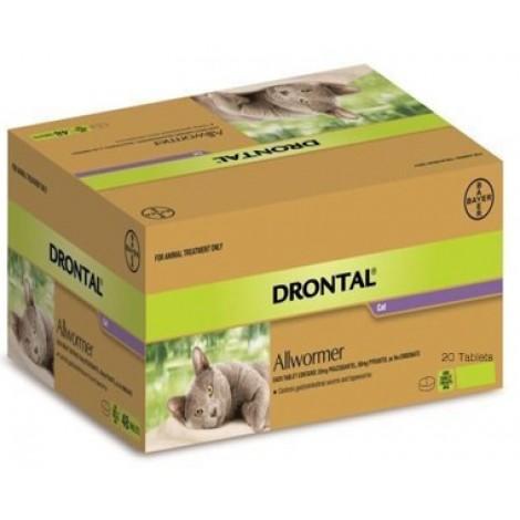 Drontal Cat Ellipsoid 4kg (8.8lb)