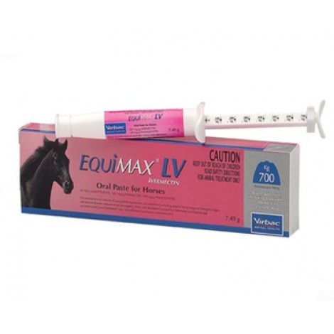 Equimax LV oral paste for horses 7.49g (0.26 ounce)