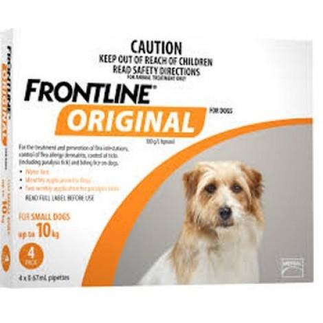 Frontline ORIGINAL Small Dog 4 Pack