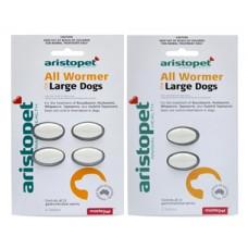 Aristopet Dog Allwormer tabs 20kg (44lb)