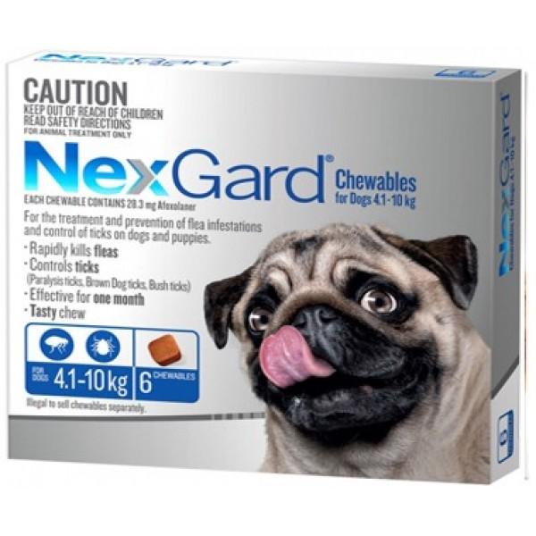 Nexgard Blue Small Dog Dogs Puppies