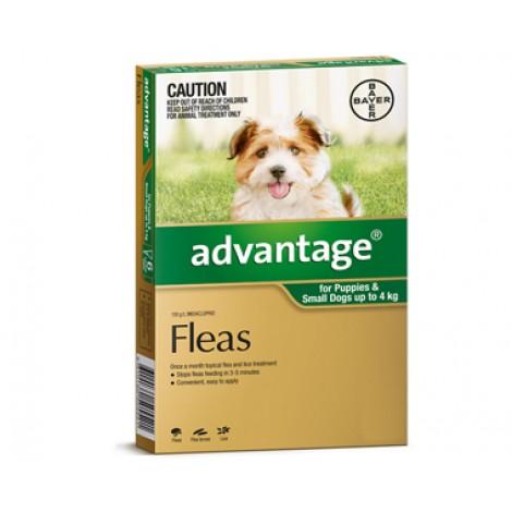 Advantage Sml Dogs & Pup (Green)