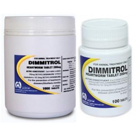 Dimmitrol Daily tabs 200mg