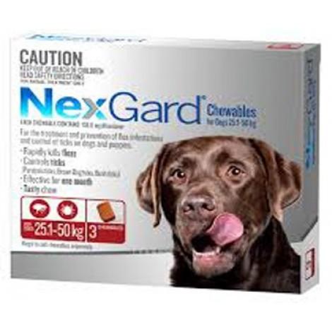 Nexgard Red Large Dog