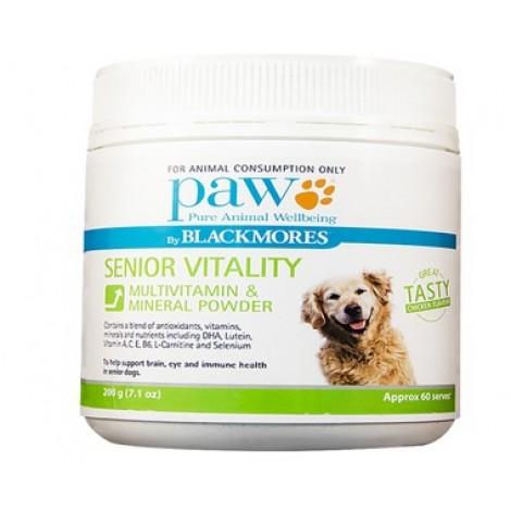 PAW Senior Vitality Powder 200g