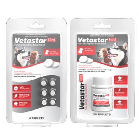 Vetastar Tablets for Medium & Large Dogs