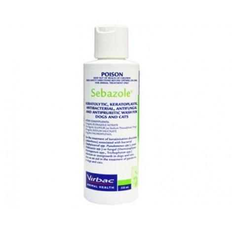 Sebazole Shampoo 250ml (8.5floz)